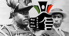 Marcus Garvey says support black, buy black