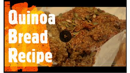 Quinoa Chia Multi-seed Bread Recipe (VEGAN - GLUTEN FREE)