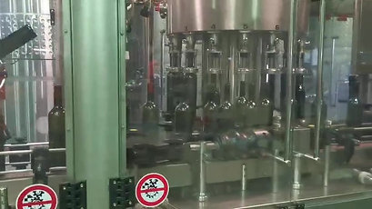 Bottling - Inert gas rinsing, Filling and corking