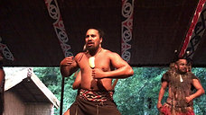 Maori Reanactment