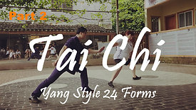 Yang Style 24 Forms - Part 2