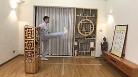 Legs Kicking Exercise