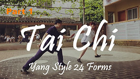 Yang Style TaiChi 24 Forms - Part 1