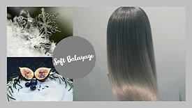 Soft Balayage bei hellen Haaren