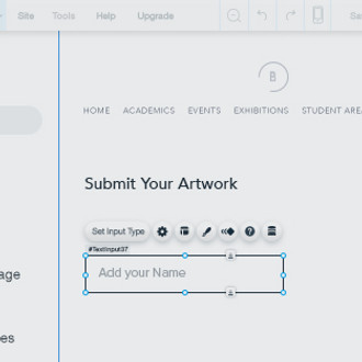 Create a custom form tutorial wix code wix v c f 5 video custom form pronofoot35fo Images