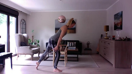 Full Body Standing - Chair - 5 mins