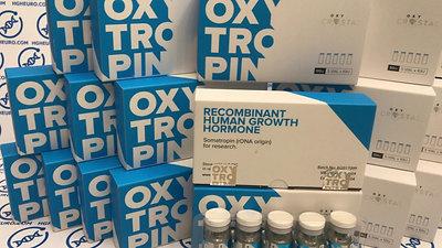 REVIEW BY HGHEURO.COM - RECOMBINANT HUMAN GROWTH HORMONE - HGH OXYTROPIN 5 VIAL * 10IU