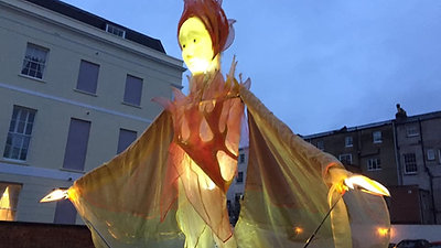 3 Ghosts 2019 Cheltenham Christmas Lights Switch on by Evenlode  Films and Productions