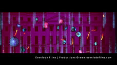 Destroy the Virus - A 2D and 3D Animation Projection-mapping of the Coronavirus by Evenlode Films and Productions