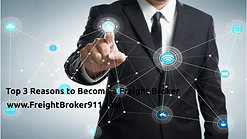Top 3 Reasons to Become a Freight Broker