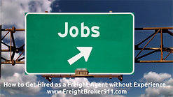 How to Get Hired as a Freight Broker without Experience