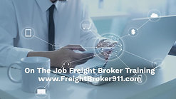 On The Job Training (OJT) for Freight Brokers