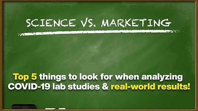 Science VS. Marketing