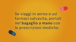 6. Farmaci & Estate - I consigli di AIFA - In aereo