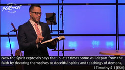 """False Teachers and Demonic Doctrines"" (1 Timothy 4:1-5) Dr. Jordan N. Rogers. 10-25-2020"