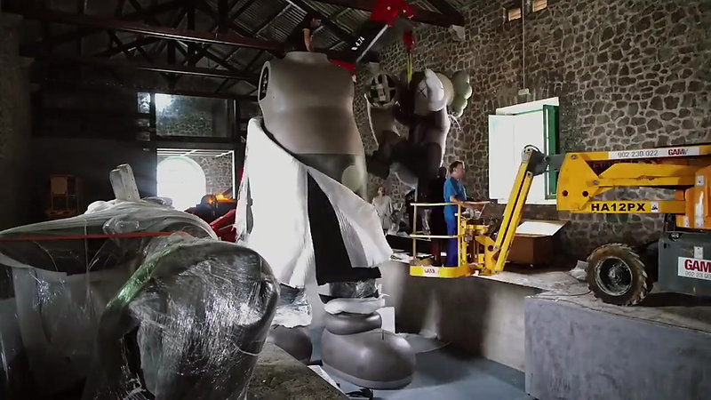 Making of Kaws