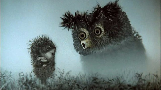 Sisteki Kirpi / Hedgehog in the Fog (1975) / Yuriy Norshteyn