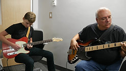 Library Studio Recording Session