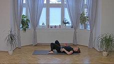 Myofasciální masáž pro oblast zad a hýždí s Danielou Pařízkovou