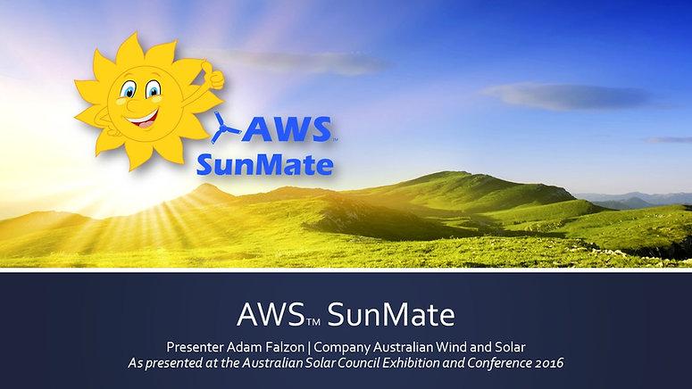 AWS SunMate