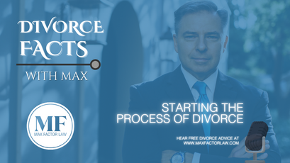 Starting The Process Of Divorce