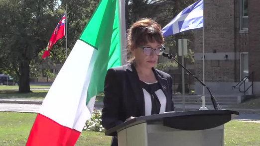 RCMP Tree planting ceremony-Sept.18-2018