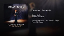 6.  'The Music of the Night', Susan Boyle-Michael Crawford - 11-12-12