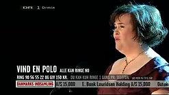 2.  'I Dreamed a Dream', Tivoli Concert Hall, Copenhagen, Denmark - 1-30-10