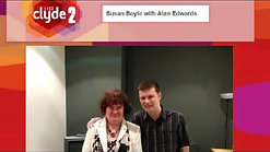 2.  Scottish Tour, Radio Clyde 2 Interview, Alan Edwards - 6-3-13