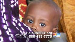 1.  UNICEF commercial - 'Amazing Grace' - 2-18-15