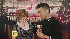 6.  America's Got Talent: the Champions, Los Angeles, ET interview - 2-15-19