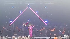3.  'All I Ask of You' (with Lee Mead), Glamis Prom 2017, Glamis Castle, Scotland - 7-15-17