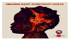 2.  'Everybody Hurts', London, charity single for the earthquake in Haiti - 2-2-10