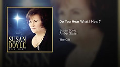 1.   'Do You Hear What I Hear?', Susan Boyle-Amber Stassi - 11-8-10