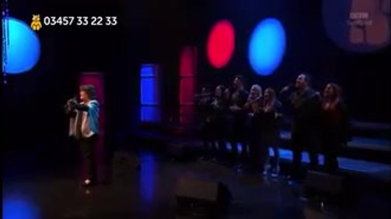 'A Million Dreams', with Soul Nation Choir, Children in Need - 11-15-19