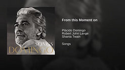 5.  'From This Moment On', Plácido Domingo-Susan Boyle - 10-30-12