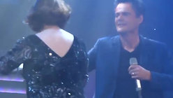 2.  'This Is The Moment' (with Donny Osmond), The Donny and Marie Show, Glasgow - 2-1-13