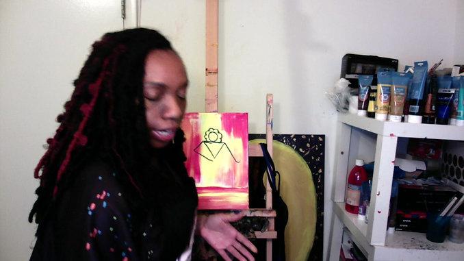Lady Fierce Paint Instructions