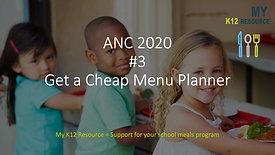Video 3 ANC 2020
