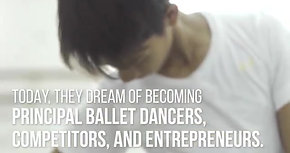 Rappler: Former street kids now scholars at London's Royal Ballet School