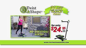 Twist & Shape Ab Machine