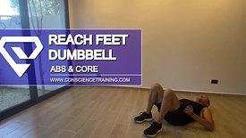 Reach Feet Dumbbell
