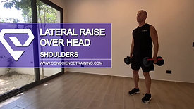 Lateral Raise over head