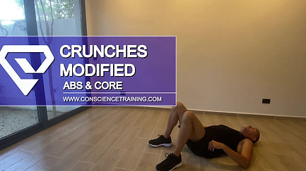 Crunches Modified