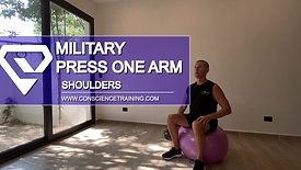 Military press  one arm