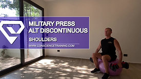 Military press alter discontinuous
