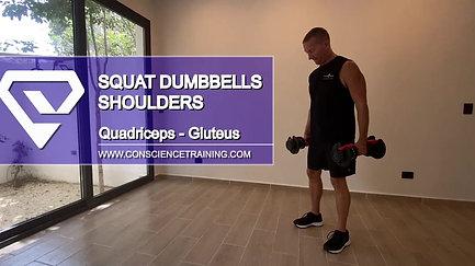Squat Dumbbells Shoulders