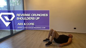 Reverse Crunches shoulders up