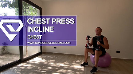 Chest press Incline