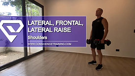Lateral, frontal to lateral Raise
